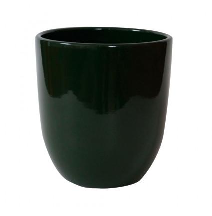 Maceta Pottery Hugo Moss Green Gloss